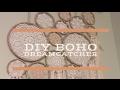 DIY BOHO STYLE DREAMCATCHER - BOHEMIAN DECOR
