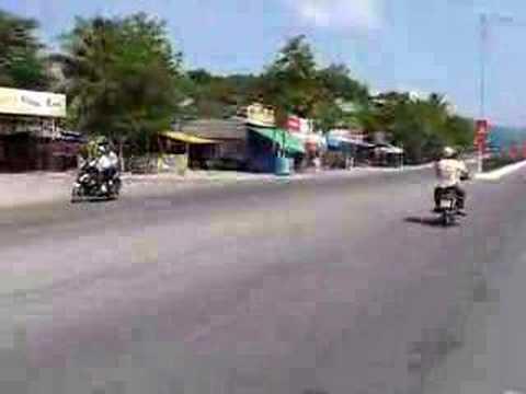 Nha Trang ocean view road
