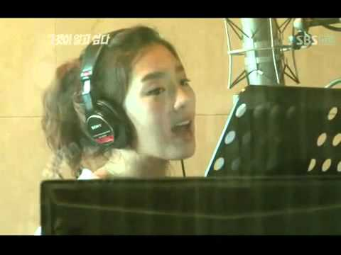 101016 SNSD Taeyeon   Genie Japanese Song Recording