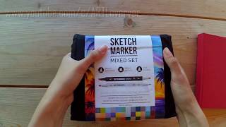 Качество по доступной цене: обзор маркеров Sketchmarker от Vera Artlover и Красный Карандаш