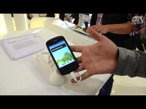 Huawei Ascend Y 201 Pro - Hands-On - IFA 2012 - androidnext.de