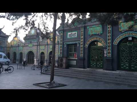 Grand Mosque. Hohhot. Inner Mongolia, China.
