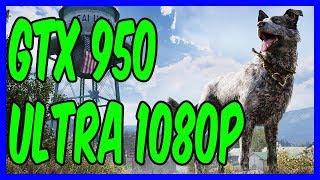 Far Cry 5 Benchmark Test on Nvidia Geforce Gtx 950 - Ultra Settings