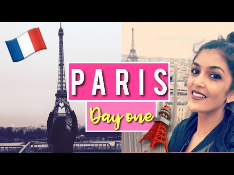 PARIS Day 1 || Bullet train to Paris || Air bnb in Champs Élysées || Arc de Triomphe || Eiffel Tower