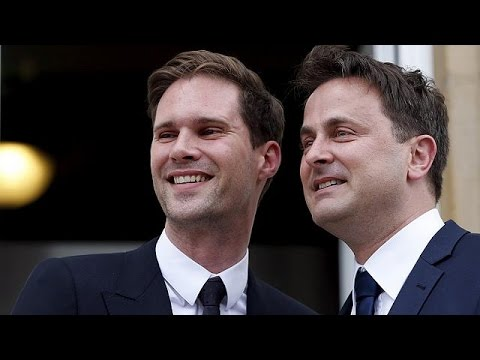 Gay wedding for Luxembourg PM a first for serving EU leader