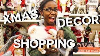 Christmas Decor Shopping 2018! | JaDIY