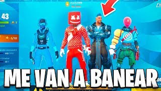 TRAVEL TO THE FUTURE in Fortnite and I find these SKINS... DO I BANEAN?