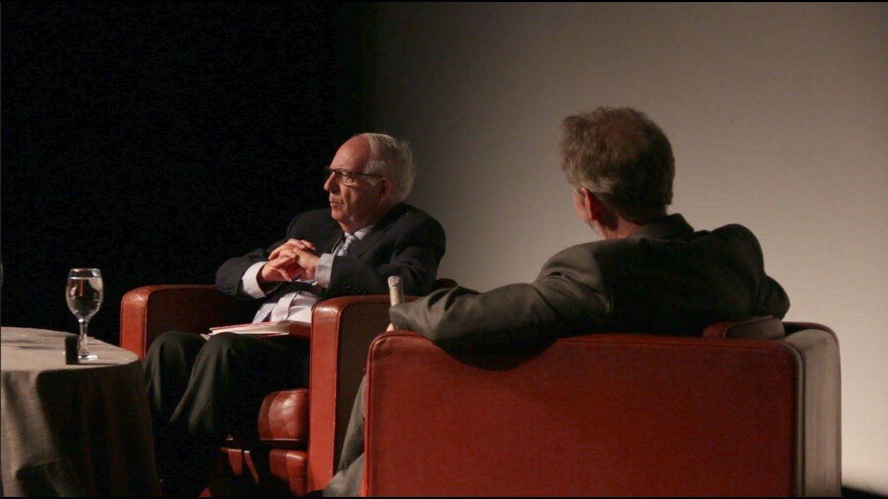 Ex Mossad Chief Efraim Halevy Interviewed By David Horovitz