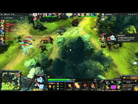Alliance vs LGD cn UB Round 1C 1 of 3   English Commentary