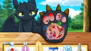 Toothless Claws Doctor - Dreamworks Dragons Games 2015