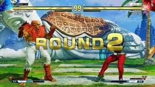 SFV~ Sagat (CaliPower-RTSD) vs. Chun-li (NagaSiren) HD 2