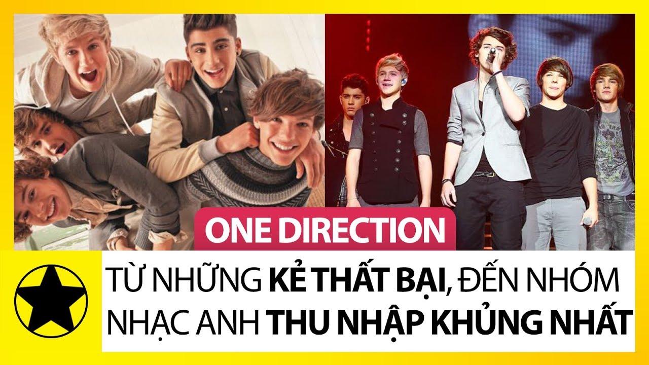 """One Direction – Từ Những Kẻ Thất Bại Đến Nhóm Nhạc Có Thu Nhập """"Khủng"""" Nhất Nước Anh"""