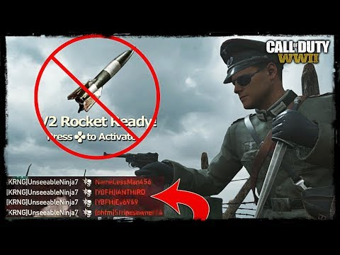 TACTICAL KNIFE IS OVERPOWERED!! *Choke V2 Rocket* (COD WW2)