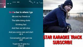 Shape of you karaoke