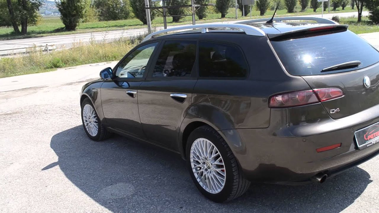 alfa romeo 159 sportwagon 2 4 jtd q4 high youtube. Black Bedroom Furniture Sets. Home Design Ideas