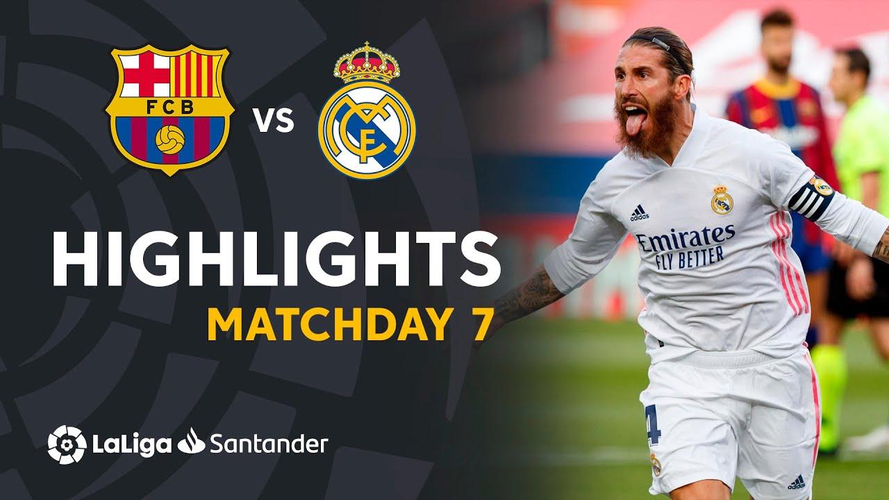 Download Highlights FC Barcelona vs Real Madrid (1-3)