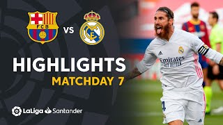Highlights FC Barcelona vs Real Madrid (1-3)
