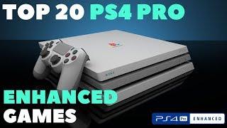 Top 20 PS4 Pro Enhanced Games