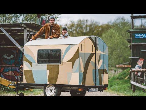 Mini Camper aus Anhänger bauen | Ab nach Italien!