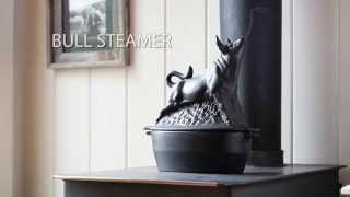 Cast Iron Bull Wood Stove Steamer Sku# 13831 - Plow & Hearth