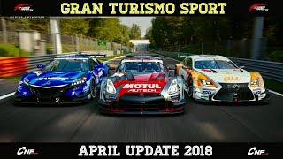 GT Sport - APRIL UPDATE (T500 & Bug Fixes)