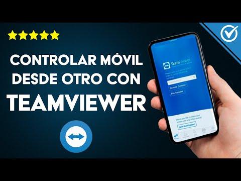 Cómo Controlar un Móvil Android Desde otro Android, iPhone o PC en Remoto con TeamViewer