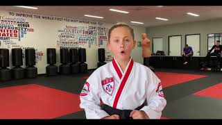 Channah June Training Tip | ATA Martial Arts