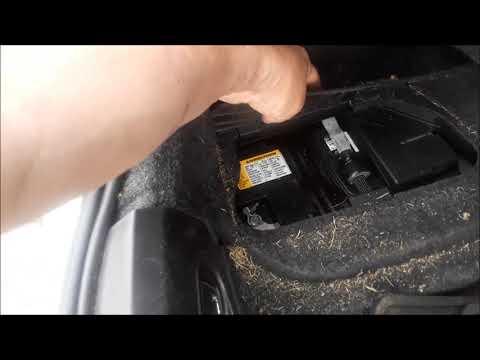 Cadillac ATS Battery Location & How To Jump Start