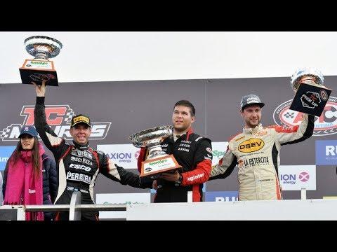 Pezzucchi consiguió su tercer podio consecutivo