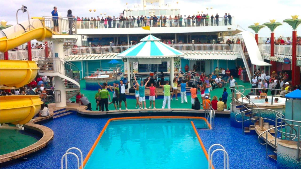 norwegian pearl sailaway party