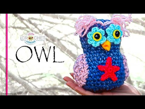 Crochet Whimsical Owl - Stuffed Toy Pattern