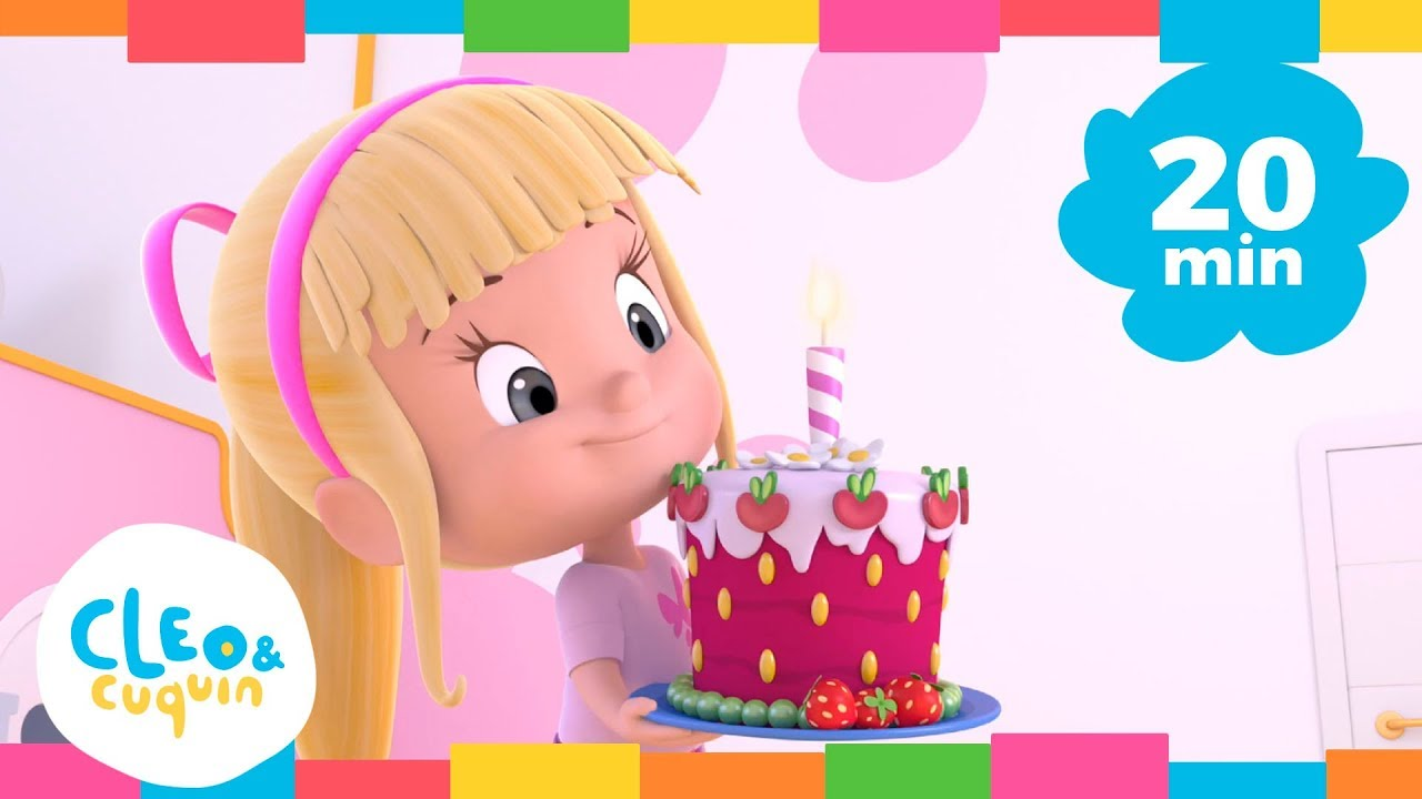 HAPPY BIRTHDAY and More Songs. Cleo \u0026 Cuquin. Nursery Rhymes I Songs For Kids (20 Minutes)