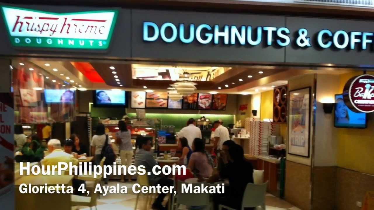 Krispy Kreme Glorietta 4 Makati Christmas Holiday Doughnuts ...