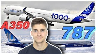 787-10 vs. A350-1000! AeroNewsGermany