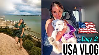 Vlog Day 2 USA - Horseshoe bay resort wedding weekend, water sports