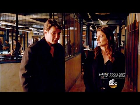 "Castle 8x07  Beckett Tells Castle He's Good Looking Too ""The Last Seduction"""