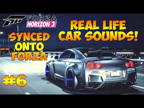 Generate Forza Horizon 3 - REAL LIFE CAR SOUNDS SYNCED ONTO FORZA! #6 Screenshots