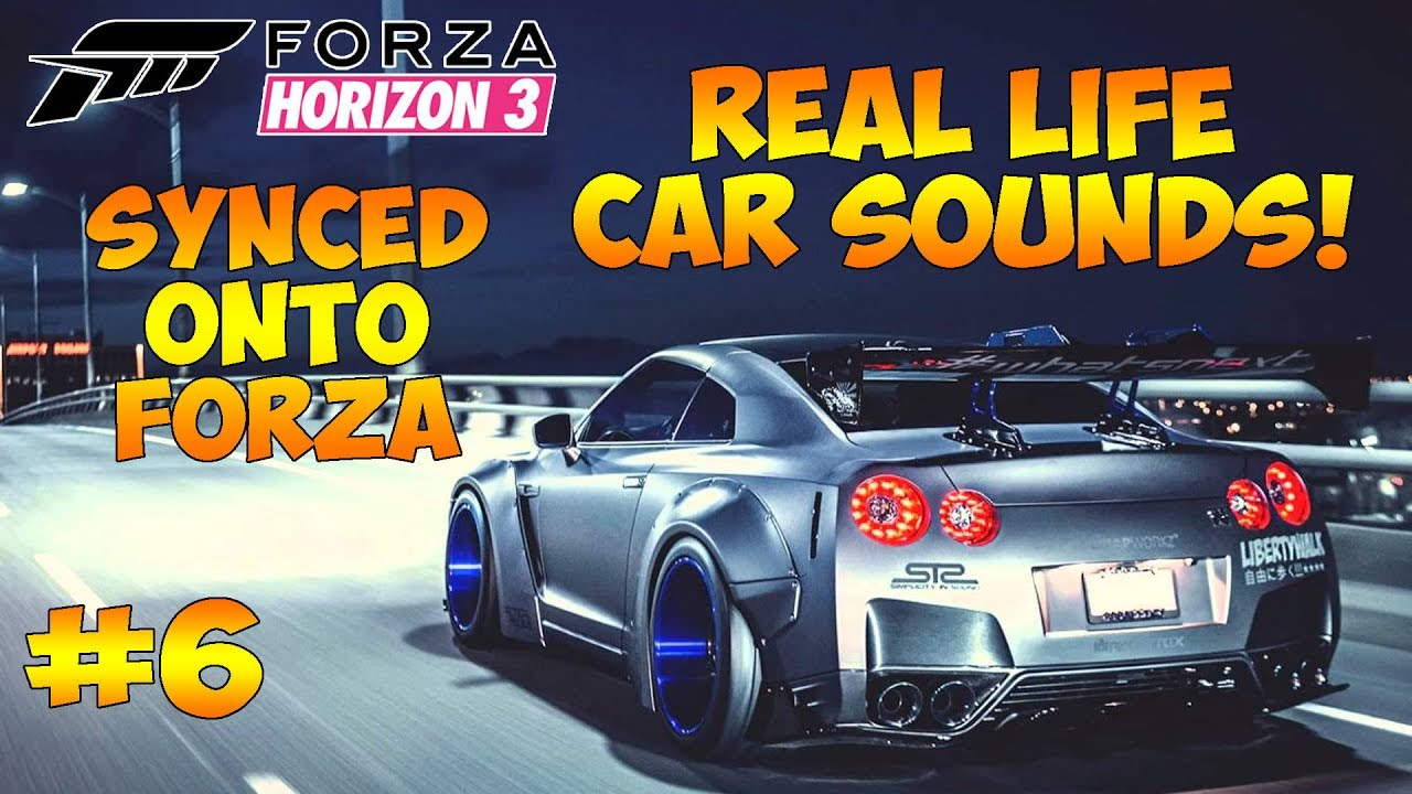 Forza Horizon  Car Sounds