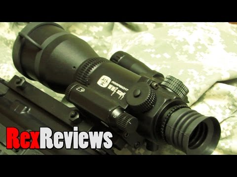 Does Cheap Night Vision Really Work? Armasight WWZ 4X Scope ~ Rex Reviews