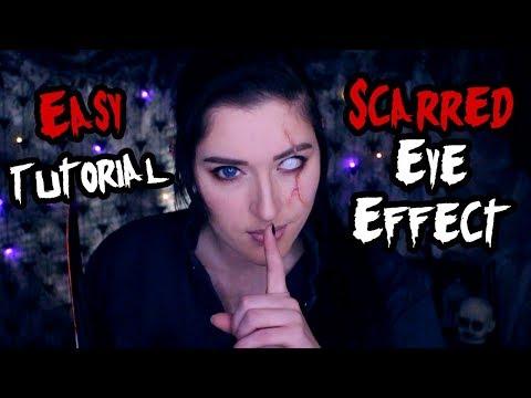 Easy Scarred Eye Cosplay Makeup Tutorial thumbnail
