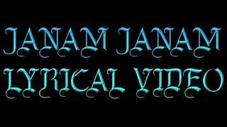 Janam Janam Dilwale Lyrics Video  Shah Rukh Khan|  Kajol |  Pritam | SRK Kajol Official  Video