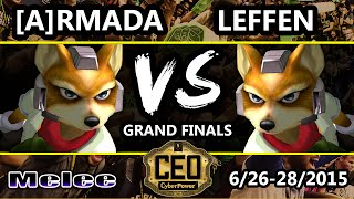 CEO 2015 - TSM | Leffen (Fox) Vs. [A] Armada (Fox) SSBM Grand Finals - Smash Melee