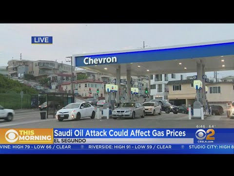 Attack On Saudi Arabian Oil Field Could Send Gas Prices Skyrocketing