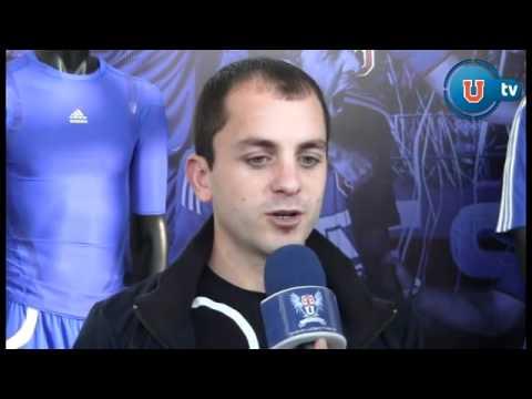 Gustavo Lorenzetti - Nuevo Refuerzo de la Universidad de Chile - YouTube