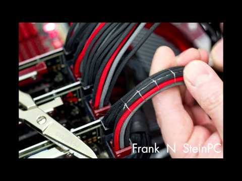 New Cable Stitch (Time Lapse Intro) - Frank's First Stitch