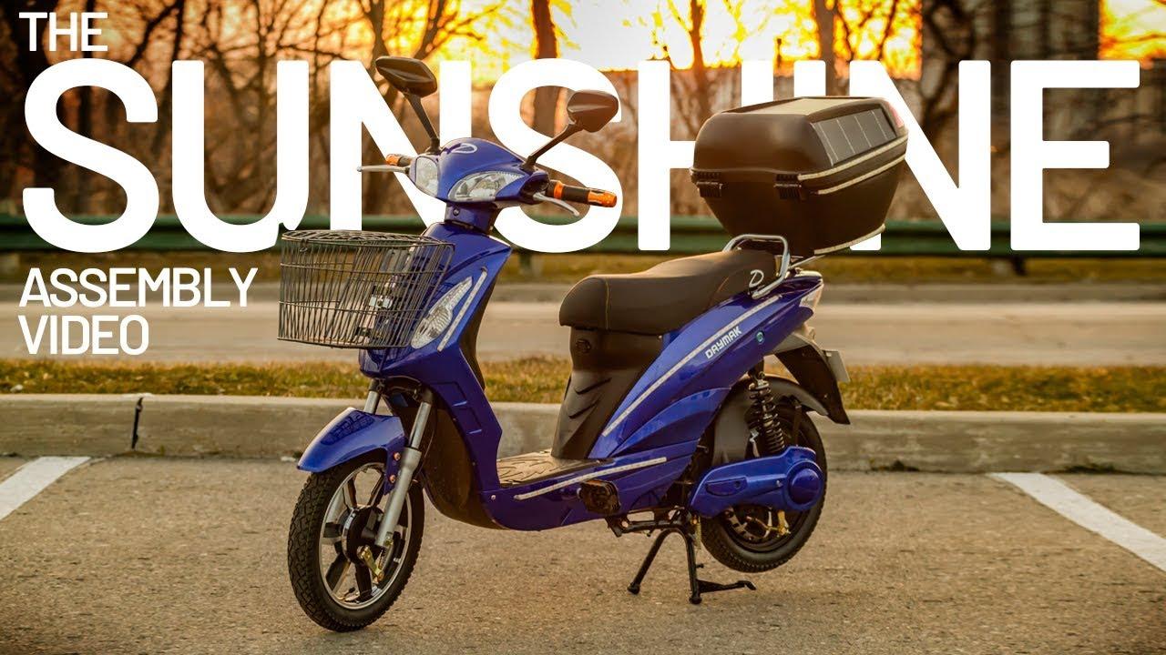 scooter tow harnes [ 1280 x 720 Pixel ]