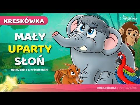Mały uparty słoń | Bajki po Polsku | Bajka i opowiadania na Dobranoc | historie