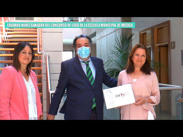 EDUARDO NUÑEZ GANADOR DEL CONCURSO DEL LOGO DE LA ESCUELA MUNICIPAL DE MÚSICA MARÍA CORONADA HERRERA