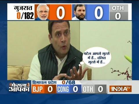 PM Modi promotes politics of hatred, says Rahul Gandhi ahead of Gujarat poll result