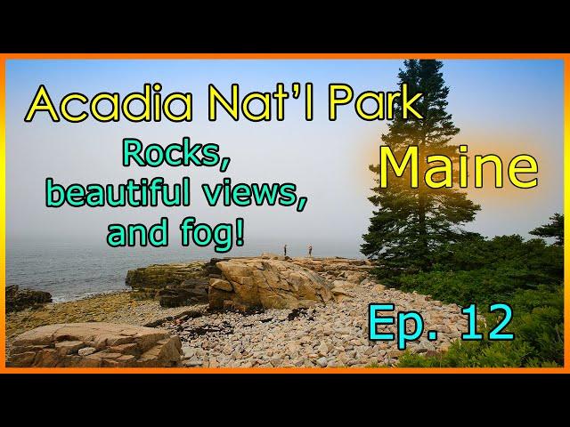 Gorgeous views, amazing rocks and dangerous edges! Acadia National Park!